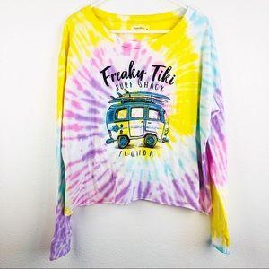 Ocean Drive | Freaky Tiki Tie Dye Tee T-Shirt